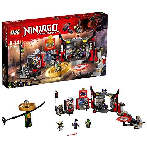 """LEGO Ninjago 70640 \""""Hauptquartier der Motorradfahrer\"""" Konstruktionsspielzeug, bunt"""