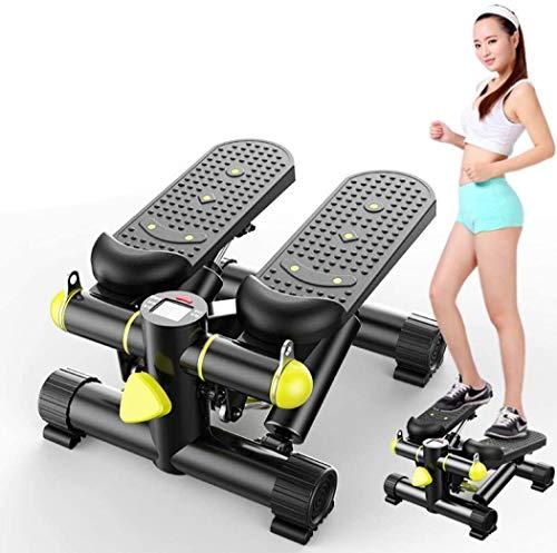 BYGZZ Hochwertige Schrittmaschine, Übungsstepper, Stepper mit Steigrohr, Hochwertige Schrittmaschine Stummschaltung Twister Stepper Kalorien verbrennen Home Indoor Gym