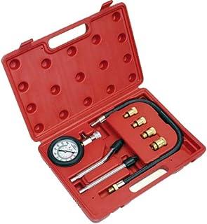 Motor Kompressionsprüfer Tester Kompressiontester/Kompressionstester Satz Manometer 0 20 BAR (Motor Instandsetzung Werkzeug)