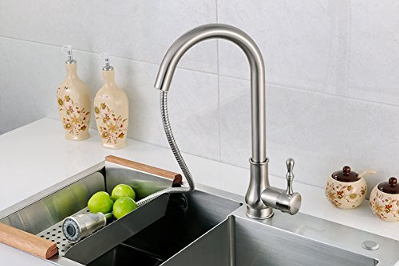 LPW Wasserhahn Kupfer Wasserhahn Küchenarmatur Küche Becken Wasserhahn Waschbecken Wasserhahn