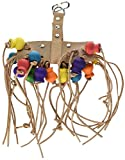 Penn Plax Leather Kabob Bird Toys, 12-Inch