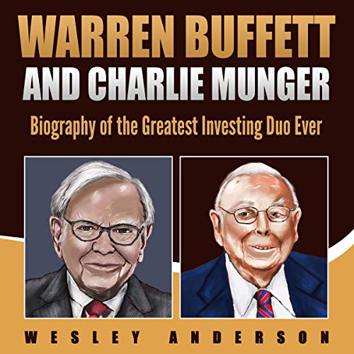 Warren Buffett and Charlie Munger audiobook cover art