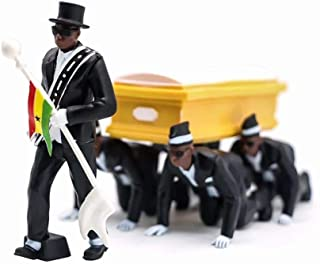 Statues Statue Dancing Figures Cosplay Props Coffin Dance Team Models -Standing_As_Shown
