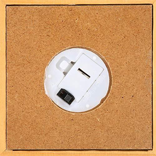 IDWT Cajas de música navideñas Caja de música, Caja de música navideña Caja de música de Madera, Kit de Caja de música para decoración de Escritorio Regalo de cumpleaños