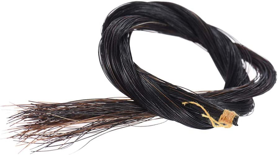 YIJU Violin Bow Hair Horsehair New sales Natural Large-scale sale Access Replacement