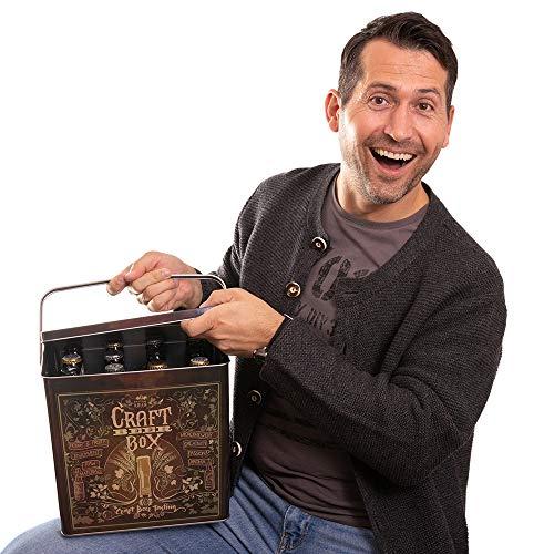 Kalea Beer Box | Metallbox mit 3D-Prägung | Bierspezialitäten | Perfekte Geschenkidee für Männer, Väter und alle Bierliebhaber (Craft Bier Box) - 7