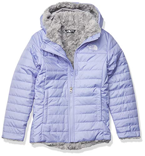 The North Face Girls' Mossbud Swirl Parka, Sweet Lavender, L