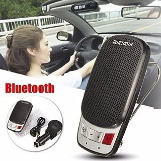 Mystyleshop Wireless Bluetooth Hands Free Car Auto Kit Speakerphone Speaker Phone Visor Clip