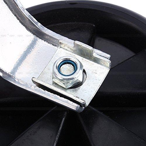 Yosoo Stützräder für Kinderfahrrad Sicherheitsstützräder für 12-20 Zoll Kinderfahrrad (Schwarz) - 4