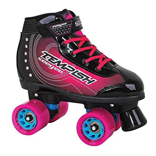 TEMPISH Damen Seegee Freestyle-Rollschuhe Für Mädchen, 4 Rollen, pink, 36