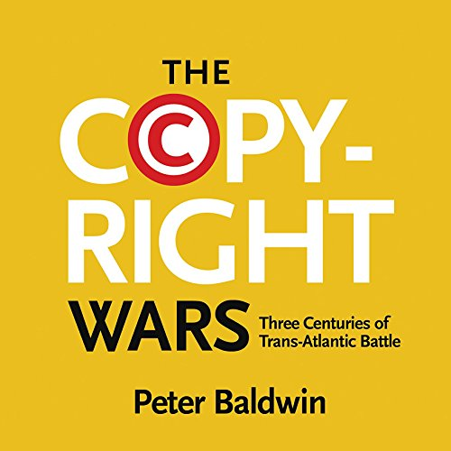 The Copyright Wars audiobook cover art