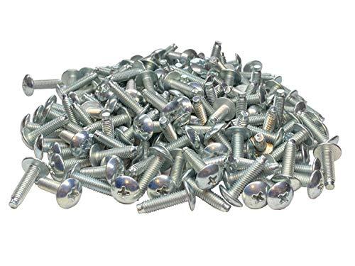 RackGold 10-32 Zinc Rack Screws 100 Pack - USA Made