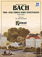 Two- and Three-Part Inventions (Kalmus CD Editions)