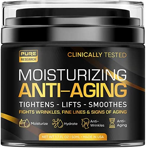 Men s Face Cream Moisturizer Anti Aging Cream For Men Collagen Retinol Hyaluronic Acid Day Night product image