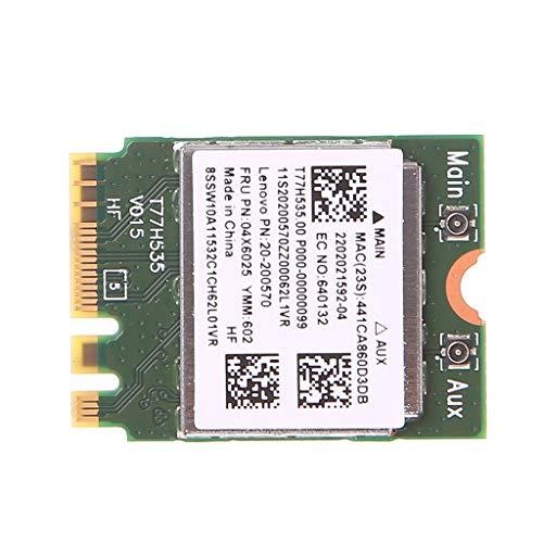 Ontracker - Tarjeta WLAN Stick BT 4.0 BN 7260 inalámbrica WiFi + tarjeta WLAN 300M 04X6011 04W3815 para Lenovo Thinkpad