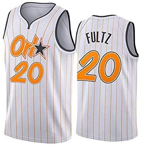 HGTRF Fultz 20# Jerseys, Ropa de Baloncesto mágica para Hombres, Tela Fresca y Transpirable, Chaleco sin Mangas Swingman XXL