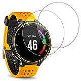 Reloj Inteligente Protector de Pantalla para Garmin Forerunner 235 225 Smart Watch,AFUNTA Vidrio Templado de Cine Anti-rasguos Alta definicin Proteger