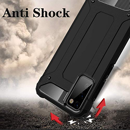 Samsung S21 Case - Shockproof Galaxy S21 Case Military Grade Drop Tested - Slim Dual Layer Samsung Galaxy S21 5G Phone Case - Black