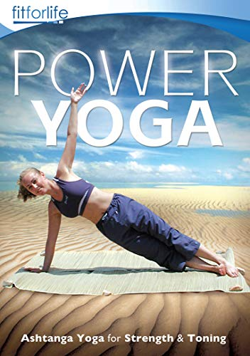 Power Yoga - Ashtanga Yoga for Strength & Toning - Fit for Life Series [DVD] [UK Import]