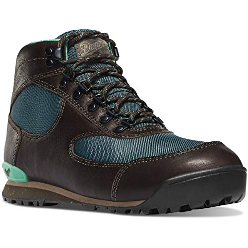 """Danner Women's 32231 Jag 4.5"""" Waterproof Hiking Boot, Brindle/Goblin Blue - 7.5 M"""