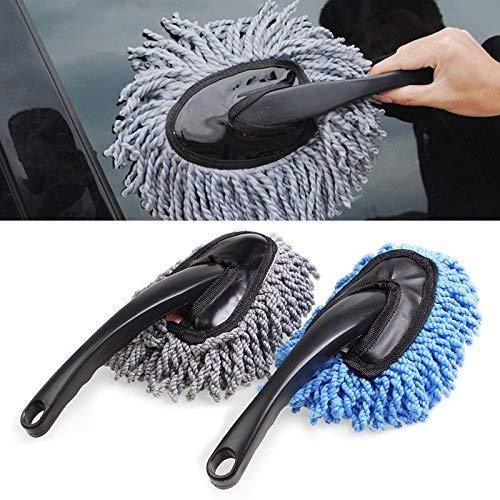 Cepillo de microfibra para limpiar el polvo del coche, para limpieza del hogar...