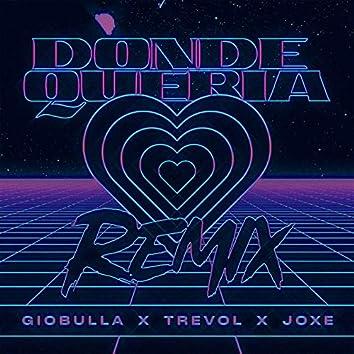 Donde Queria (Remix)