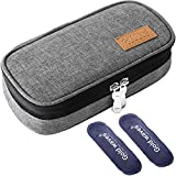 Insulin Cooler Travel case, Organizer Medical case with ice Pack - Kits Medical Cooler Epi...