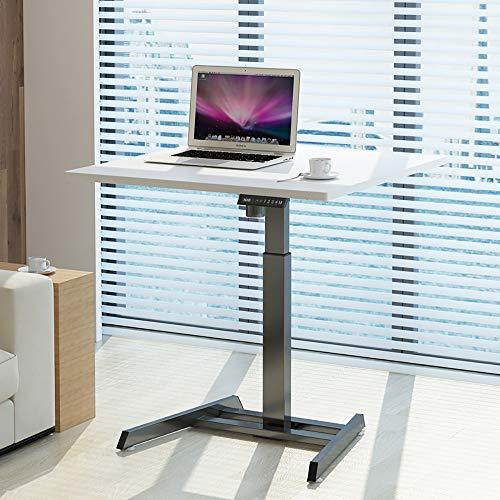 ZHFC - Mesa de pie eléctrica para ordenador portátil, con base ergonómica y controlador de memoria, para salón, oficina, etc.