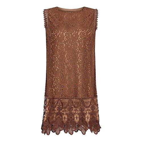 (メラ ロンドン) Mela London レディース ワンピース・ドレス ワンピース Lace Sleeveless Dress [並行輸入品]