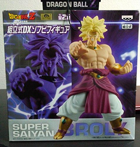 Dragon Ball Z Sectional DX Soft Vinyl Figure Broly (japan import)