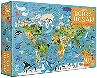 Animals of the World Book and Jigsaw (Usborne Book and Jigsaw)