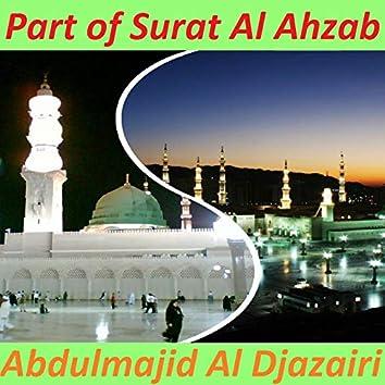 Part of Surat Al Ahzab (Quran)