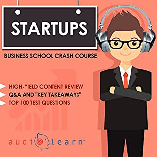 Startups - Business School Crash Course audiobook cover art