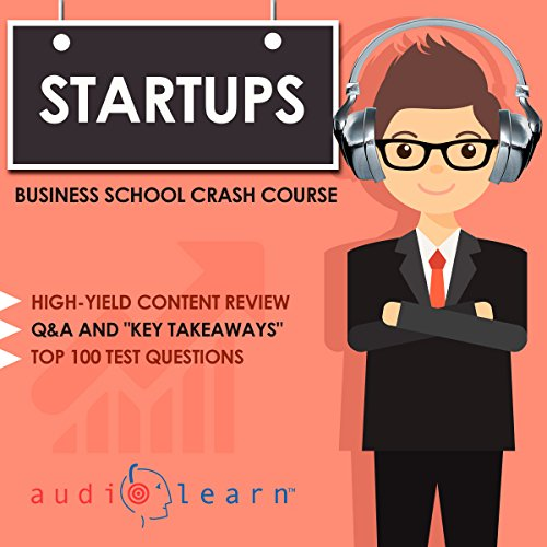 Startups - Business School Crash Course audiobook cover art
