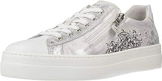 Sneaker Femmes NeroGiardini en Cuir Blanc ou Savannah E010660D. Design raffiné Sneaker. Collection Printemps Eté 2020