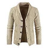 Chaqueta ligera de invierno para hombre, chaqueta de otoño, chaqueta de aviador, cuello alto, chaqueta bomber, chaqueta de algodón militar, caqui, XXXL