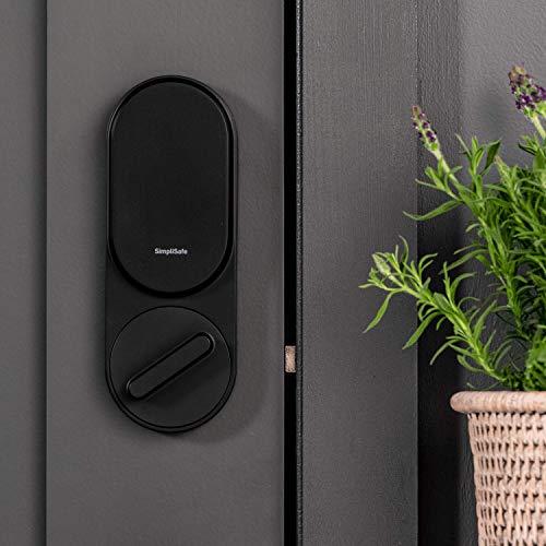 SimpliSafe Smartlock (Black) - Compatible with SimpliSafe Home Security System (New Gen)