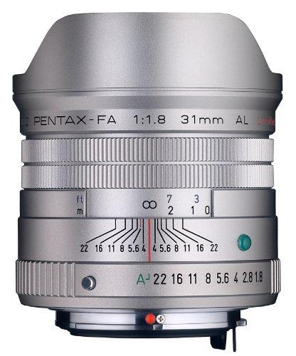 Pentax FA 31mm f/1,8 AL Lim Objektiv (silber) für Pentax