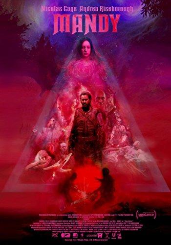 Poster Mandy Movie 70 X 45 cm