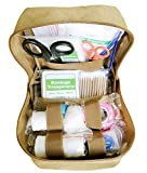 GHFY EMT Medical First Aid Kit IFAK Pouch, Tactical Molle Compatible Outdoor Gear Emergency Kits...