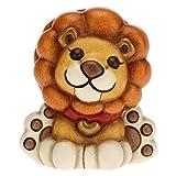 THUN - Smiley Leo - Living, Oggetti Decorativi per la Casa - Idea Regalo - Linea Thunimals - Ceramica - 5x4,2x5,5 h cm