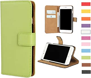 Jaorty Huawei Google Nexus 6P Case,Genuine Premium Leather Folio Wallet Case Flip Cover Case Book Design with Kickstand Feature & Magnetic Closure & Card Slots/Cash Compartment for Nexus 6P,Green