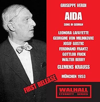 Verdi: Aïda (Sung in German) [Recorded 1953]
