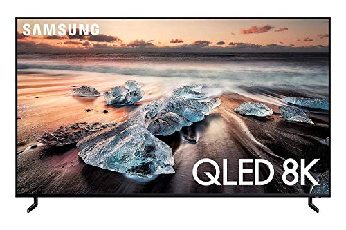 Samsung QN55Q900RBFXZA Flat 55' QLED 8K Q900 Series Smart TV (2019) (Renewed)