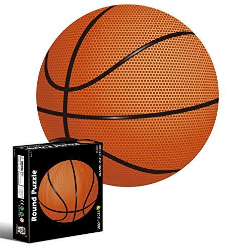 N/Z Puzle de 1000 piezas de baloncesto, creatividad, puzle de fútbol, juguete educativo para liberar el estrés para adultos y niños