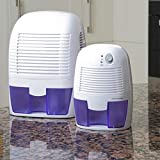 easylife lifestyle solutions Compact Peltier Dehumidifier - Small (500ml) | H22xW15xD13cm