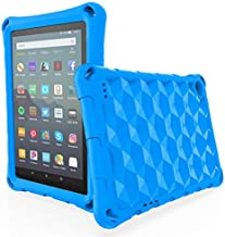 Fire 7 Tablet Case for Kids, OQDDQO 2019 New Kindle Fire 7 Case, Extra Thick Protective Layer Double-Layer Shockproof in Four Corners Compatible with 9/7/5th Generation 2019/2017/2015 Release (Blue)