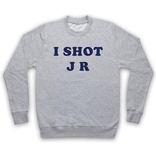 My Icon Art & Clothing Father Krilly I Shot JR Comedy TV Erwachsenen Sweatshirt, Grau, Small
