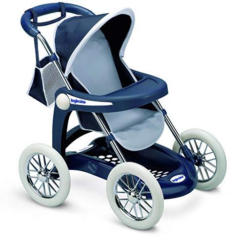 Smoby faltbarer Kinderwagen Inglesina blau