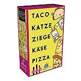 Asmodee BLOD0074 Blue Orange Taco Katze Ziege Käse Pizza, Party-Spiel, Deutsch